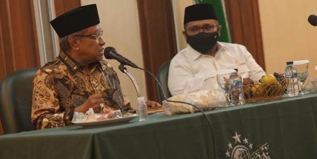 Sowani PBNU, Menag Jelaskan Keinginan Jokowi Soal Kemandirian Pesantren