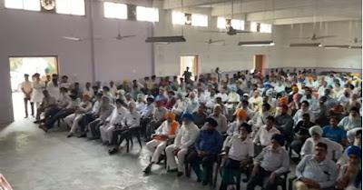 जसवीर सिंह गढ़ी के पक्ष में उमड़ा अकाली वर्करों का जनसैलाब, मीटिंग ने धारण किया रैली का रूप