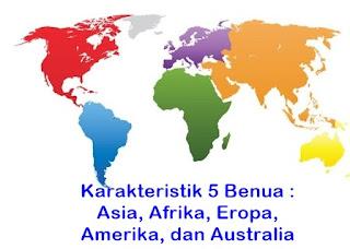 nama benua di dunia
