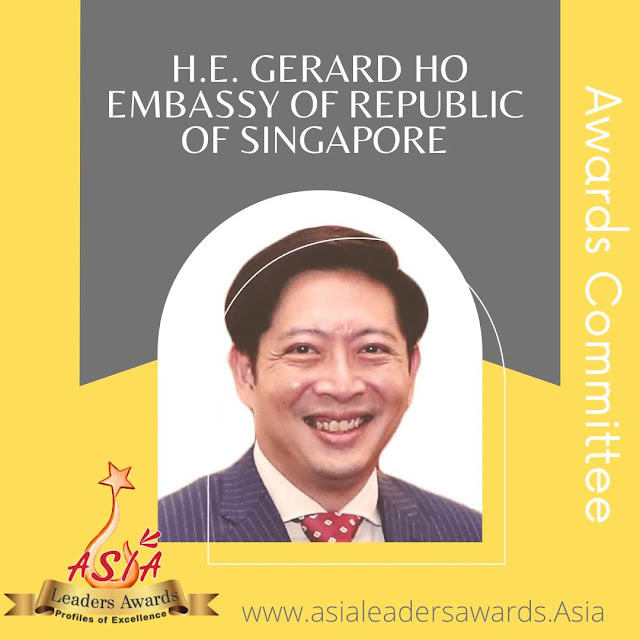 The Embassy of Republic of Singapore for Asia Leaders Awards 2021