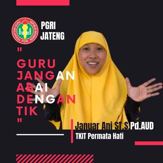 JANUAR ANI ST, S.Pd.AUD Gurulympics PGRI Event Luar Biasa