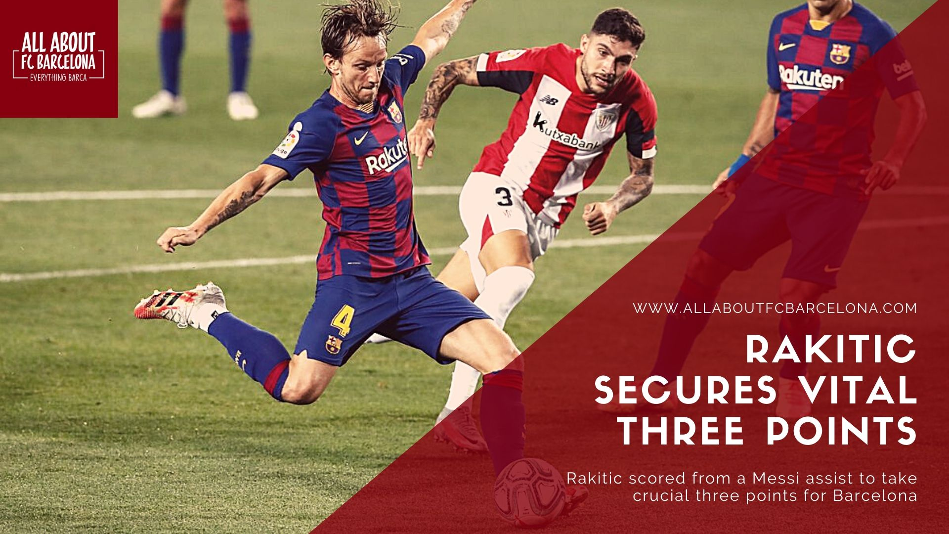 Rakitic Scores against Bilbao
