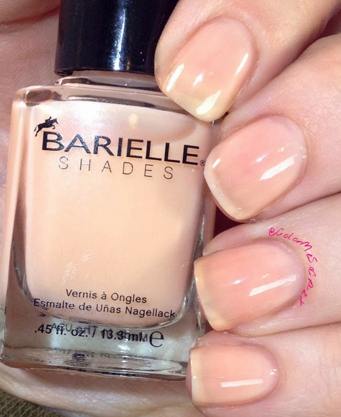 Cream n sugar from Barielle Spring Velvet Collection 2014