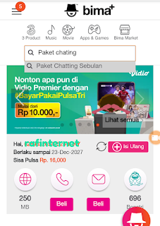 ✓ Cara Daftar Paket Chatting Unlimited Tri Tanpa Aplikasi 2020