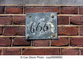 The number 666 superstition