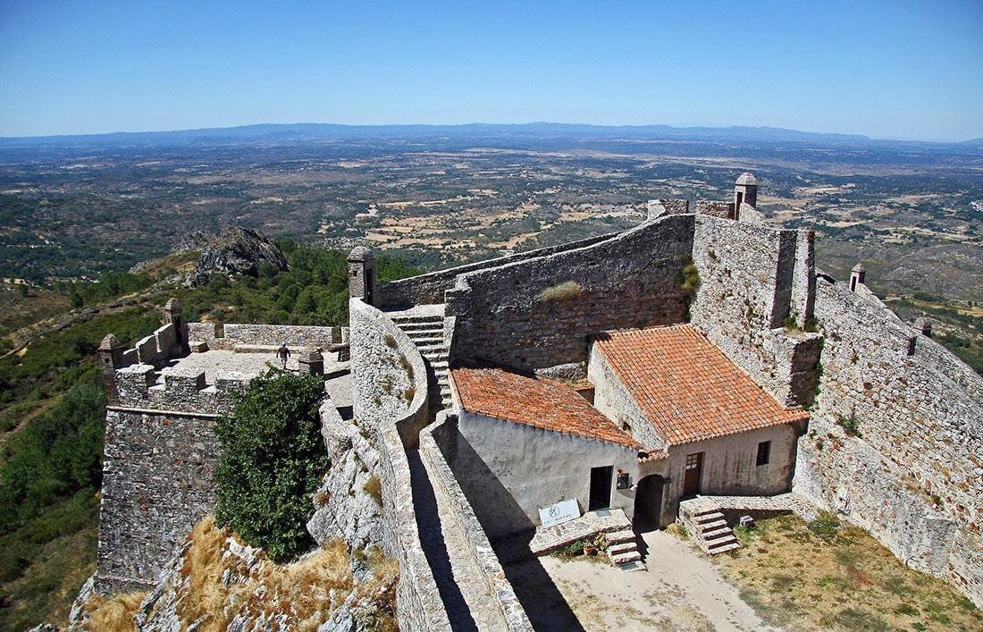 Castle of Marvao Alentejo Portugal