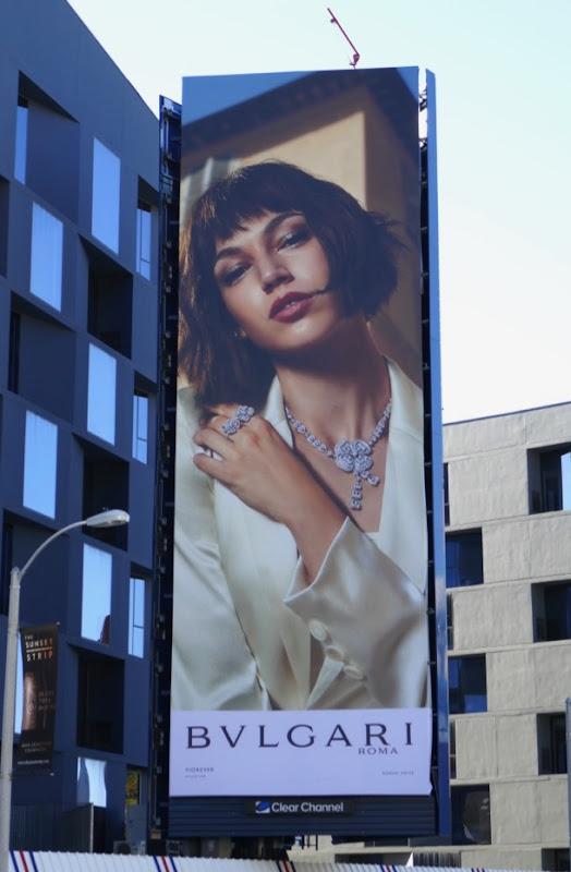 Bulgari Roma jewelry S19 billboard