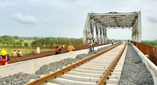 Dedicated freight corridor engineering