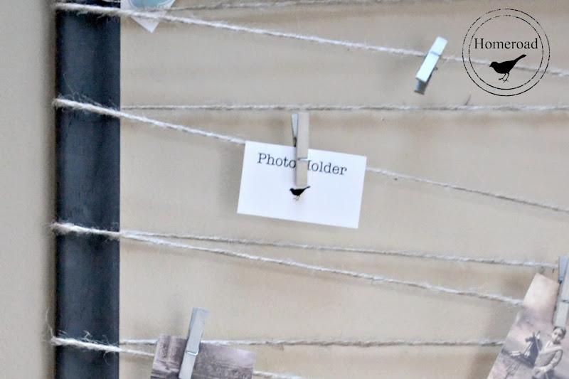 Jute String Frame Photo Display