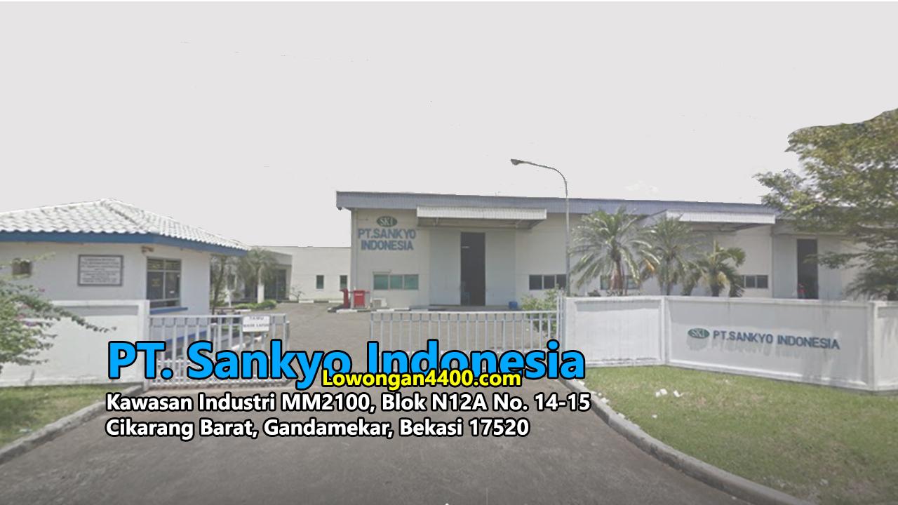 Lowongan Kerja PT. Sankyo Indonesia