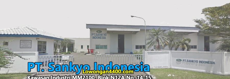 Lowongan Kerja PT. Sankyo Indonesia Terbaru