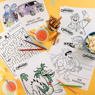 onward coloring pages