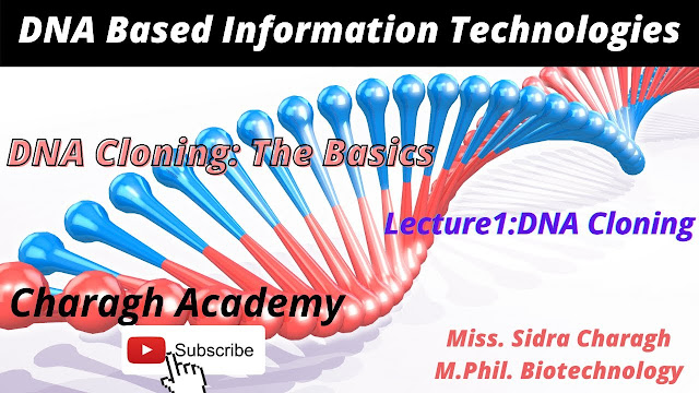DNA Cloning: The Basics    DNA Cloning Lecture 1