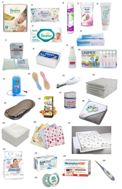 co kupić dla noworodka artykuły higieniczne kosmetyki