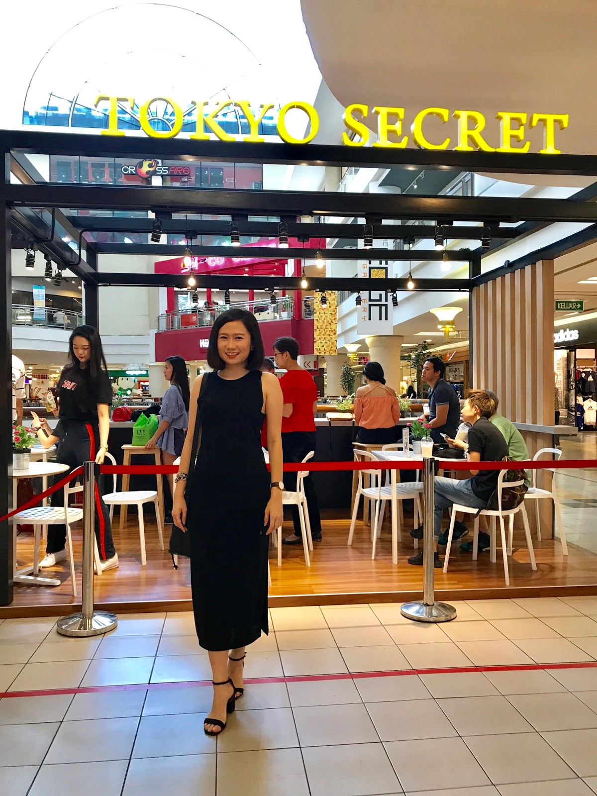 Celebrating Tokyo Secret happy 1st anniversary at 1 Utama Mall