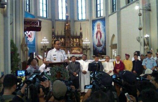 Hormati Keberagaman, Malam Natal Anies Kunjungi Sejumlah Gereja di DKI Jakarta