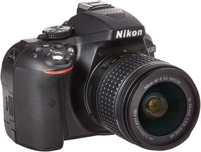 Nikon D5300 24.2MP Digital SLR Camera with AFP-P 18-55mm and VR Kit lens