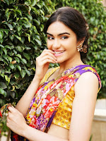 adah Sharma Saree Stills-cover-photo