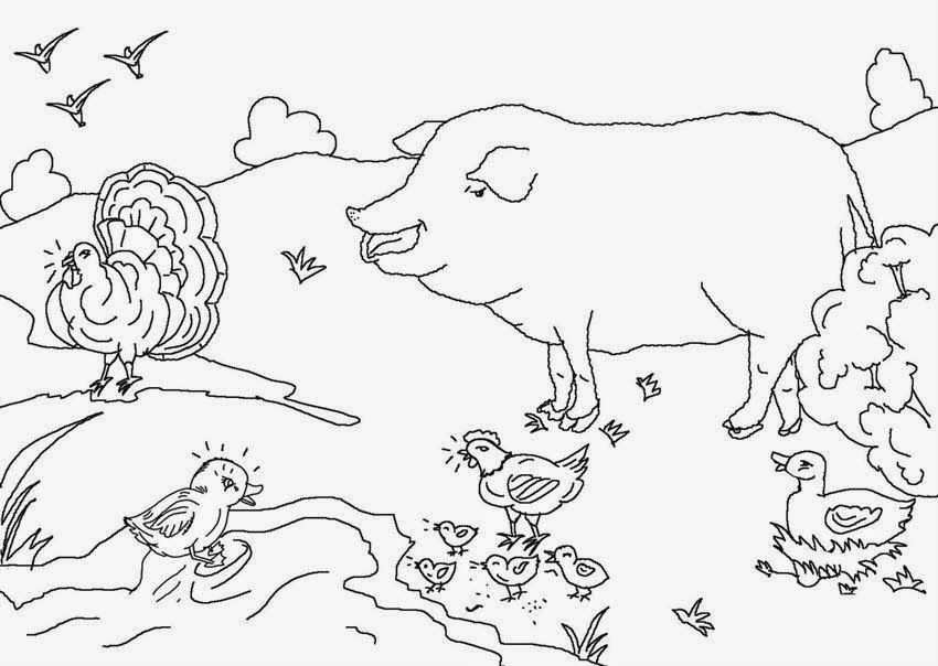 ugly duckling coloring page - photo #41