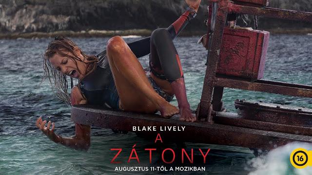 Csak a végtelen óceán és egy szörfdeszka… a film hőse, Nancy (Blake Lively) imád magányosan siklani a hullámokon. Ám ezúttal hamar rá kell jönnie, hogy nincs teljesen egyedül: egy gyilkos cápa eredt a nyomába.