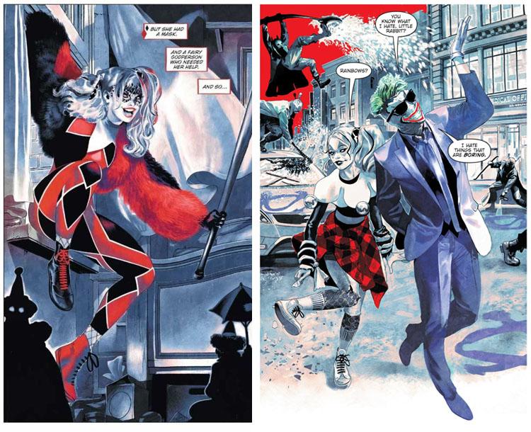 Páginas de Harley Quinn: Cristales Rotos