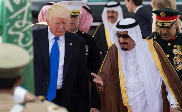 Donald Trump diz ter 'grande confiança' na Arábia Saudita após prisões de autoridades.