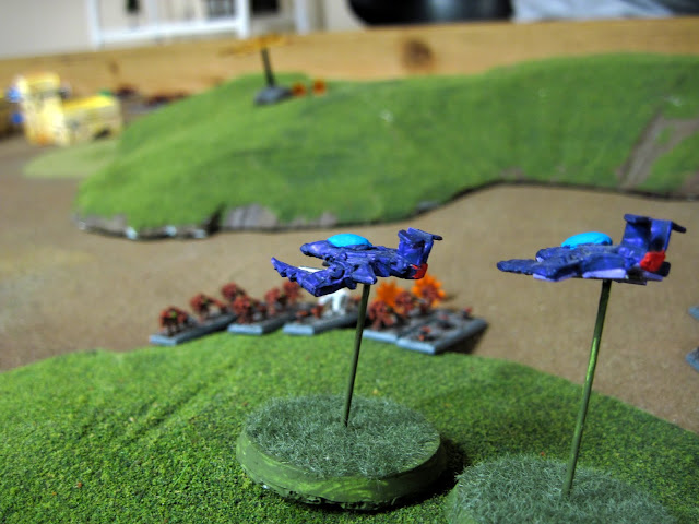 Kabal of the Loud Mouth fighters hit Commander Nearsight (he never saw them coming).