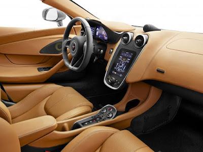 2017 McLaren 570S interior image