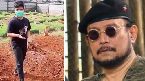 Makam Budi Djarot Pembakar Poster HRS Amblas, Netizen: Tanda Azab Kubur, Makanya di Dunia Jangan Sok!