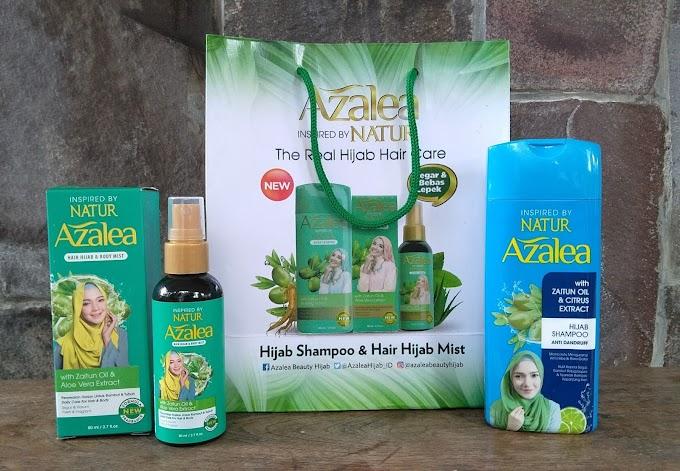 Review Produk : Azalea Inspired by Natur, Produk Perawatan Rambut untuk Wanita Berhijab