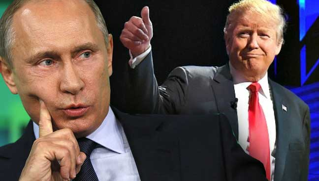 Será que Putin quer Trump como presidente dos EUA?