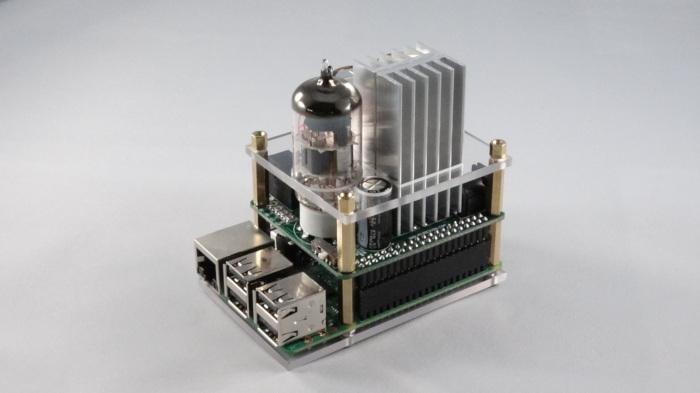 expansão audio valvulada raspberry pi