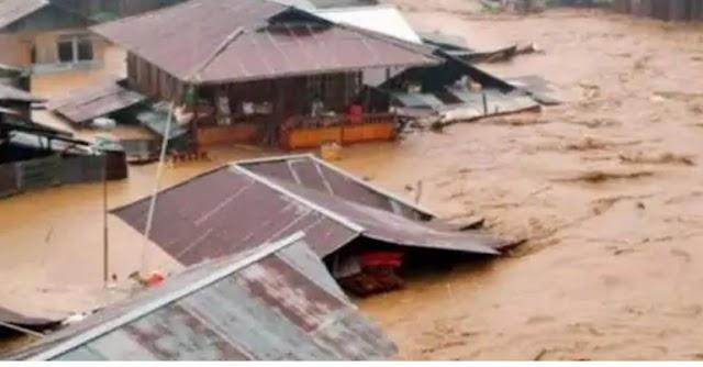 Karawang Selatan  dilanda Banjir,ketinggian Air Capai 2 Meter