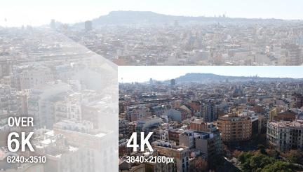 Из 6K получается 4K-кадр