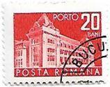 Selo Antigo Palácio de Serviços Postais, 20, 1970