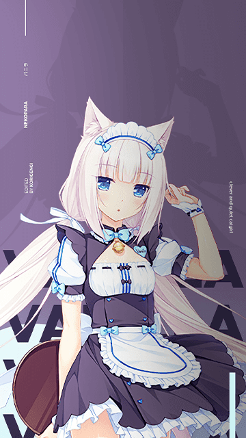 Vanilla - Nekopara Wallpaper