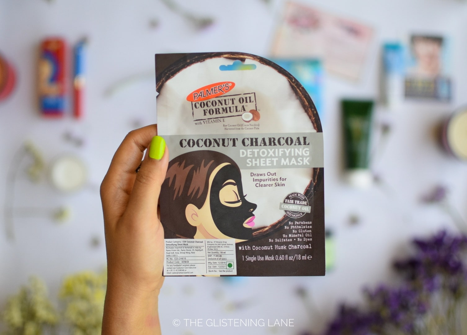 Palmer's Coconut Charcoal Detox Sheet Mask