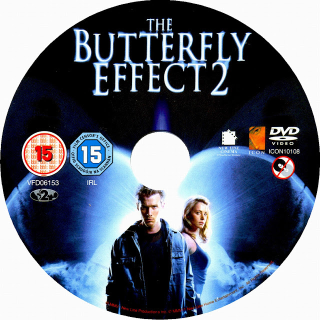 The Butterfly Effect 2 DVD Label
