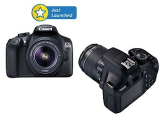 Top Rated Canon EOS 1300D Kit (EF-S 18 – 55 IS II) DSLR Camera for Rs.21990 @ Flipkart