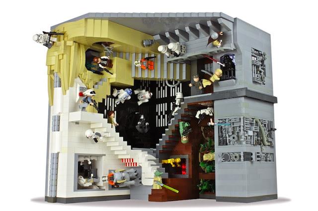 eschers relativity in lego andrew lipson - 640×426
