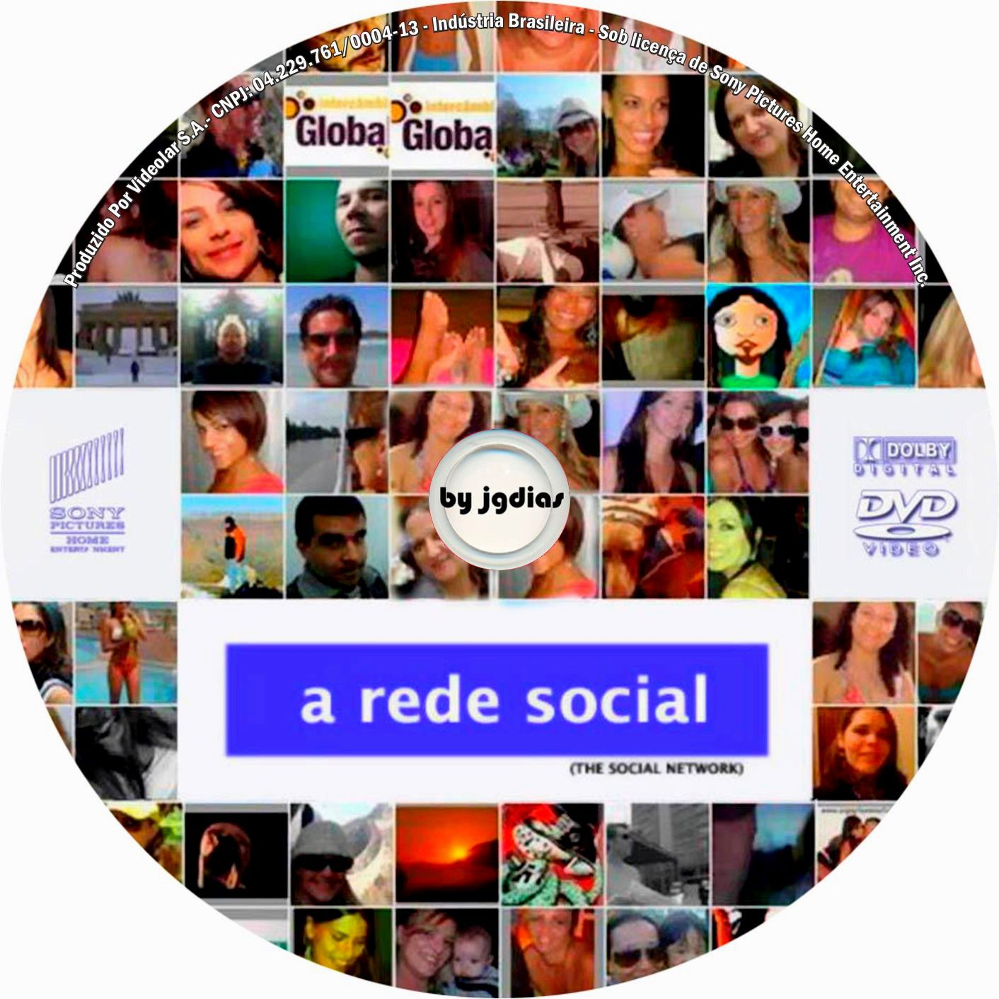 Label DVD A Rede Social