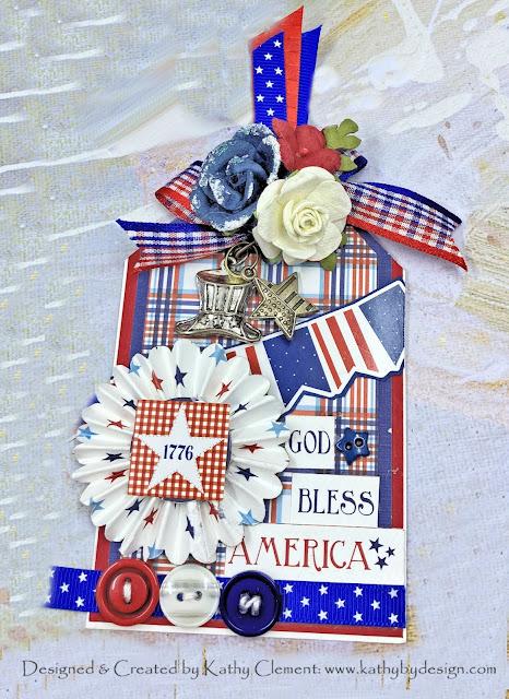 Really Reasonable Ribbon Patriotic Ribbon Tag