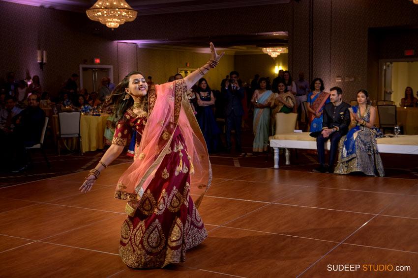 Indian Wedding Sangeet Photography South Asian Hindu Wedding at Eagle Crest Marriott by SudeepStudio.com Ann Arbor Indian Wedding Photographer