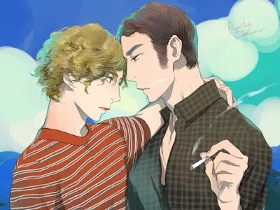 """Manga: Artistas de Boys-Love se inspiran en """"El Angel"""" de Luis Ortega para realizar siete ilustraciones"""