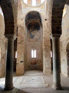 ο ναός της αγίας Σοφίας στο Μυστρά