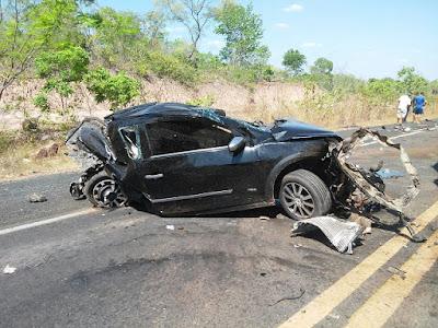 Acidentes deixam dois mortos em rodovias federais no Maranhão neste domingo