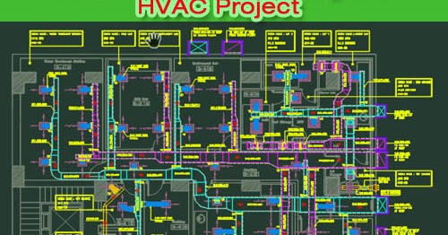Autocad Shop Drawing For Chilled Water Hvac Project