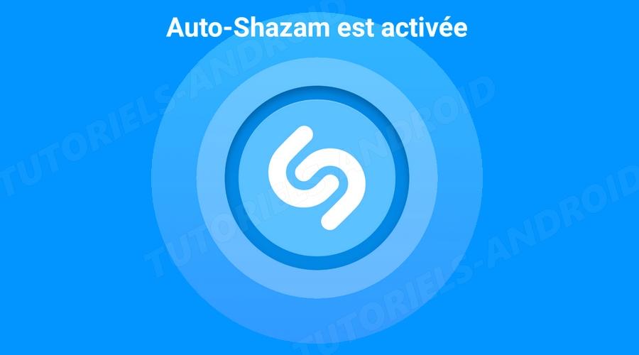 Activation Auto-Shazam