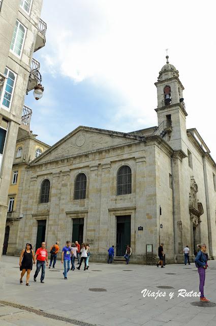 Iglesia de Santiago a Nova, Lugo