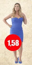 Cuánto mide Claudia Conserva